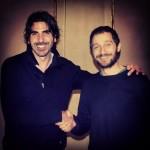 Nicola Angione e Claudio Santamaria