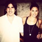 Nicola Angione e Melissa Satta