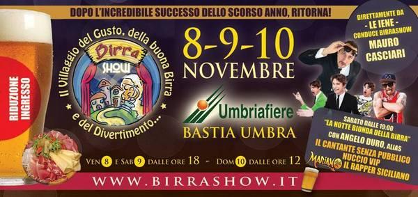 Birra show Umbriafiere