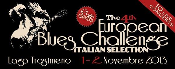 European Blues Challenge Trasimeno Blues