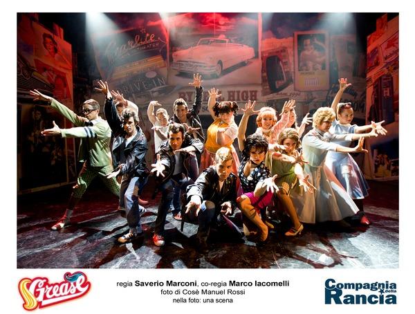 Grease Cast Teatro Lyrick