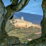 Assisi vista da lontano