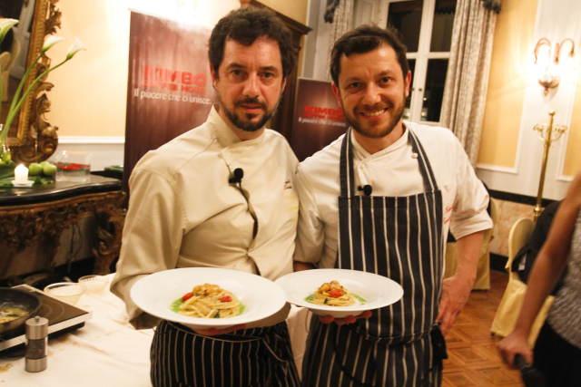 Da sinistra Angelo Troiani e Giulio Terrinoni