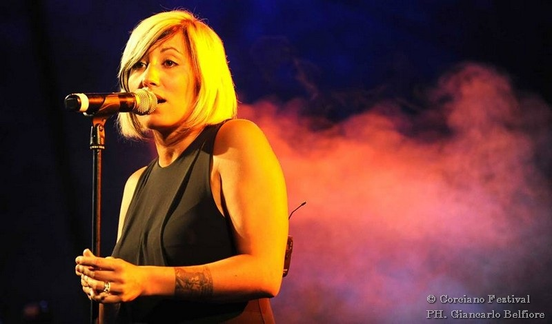 Malika Ayane al Corciano Festival 2014