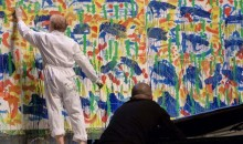 Night Line Museum a Spello diventa Action Painting, 30.08