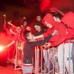 Niculae Valentino festeggiato dai suoi Rionali