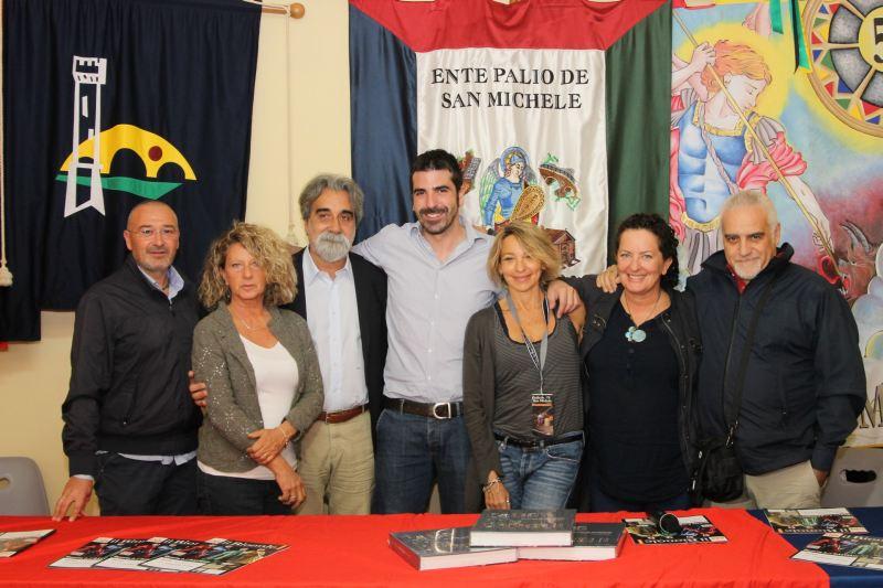 da sinistra Gnavolini, Buccellato, Vessicchio, Angione, Giovannetti, Draghetti, Stocchi