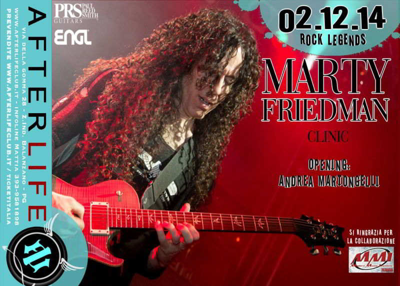 Marty Friedman - Afterlife Live Club