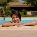 agriturismo assisi il giardino dei ciliegi - la piscina