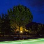 agriturismo assisi il giardino dei ciliegi - piscina notturna