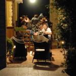 agriturismo assisi il giardino dei ciliegi - ristorante estate