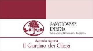 agriturismo assisi il giardino dei ciliegi - vino