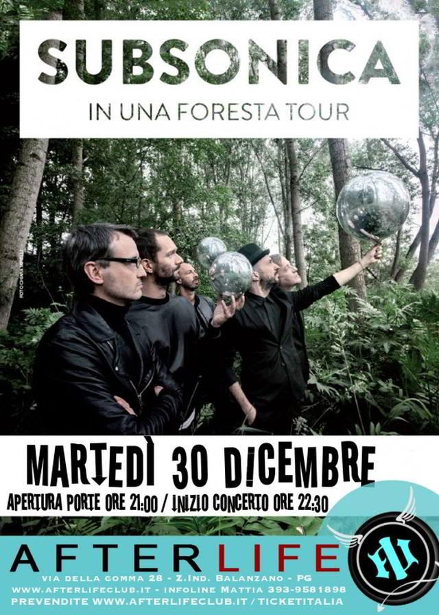 Subsonica a Perugia