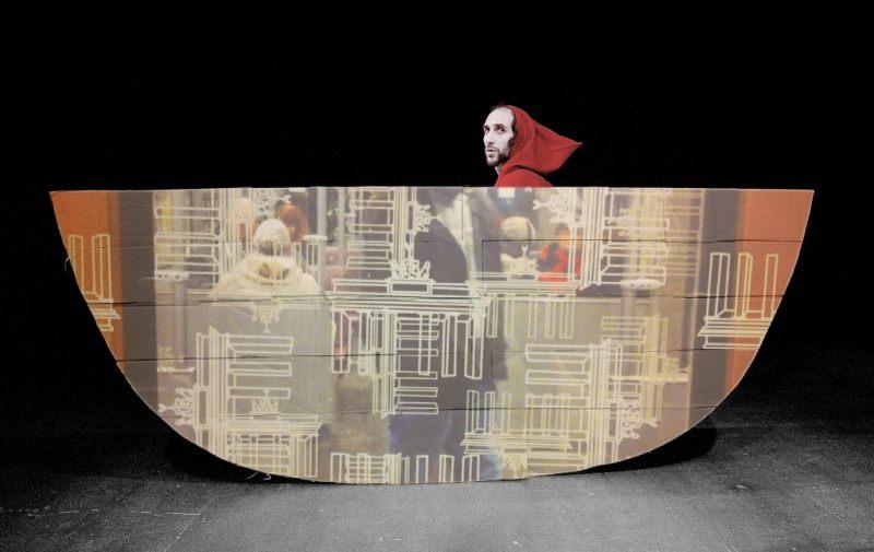 VALERIO MALORNI - L'uomo nel diluvio di Flavio Boretti - Zoe Teatro