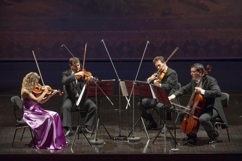 17 gennaio - il quartetto d'archi del teatro San Carlo a Solomeo