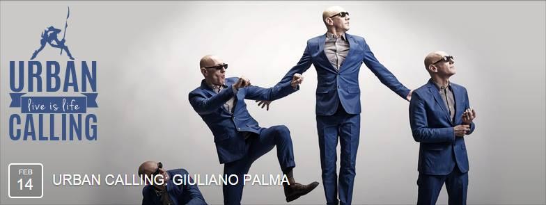 Giuliano Palma all'Urban - San Valentino 2015