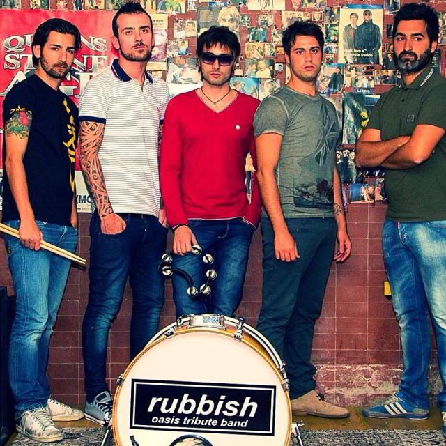 Rubbish – Oasis tribute band