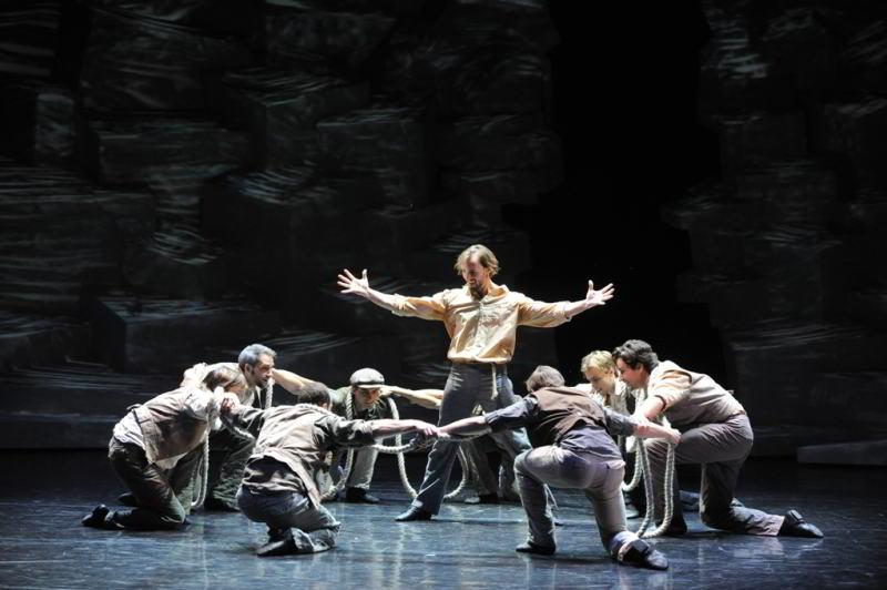 Zorba della Ballet Gyor in Umbria