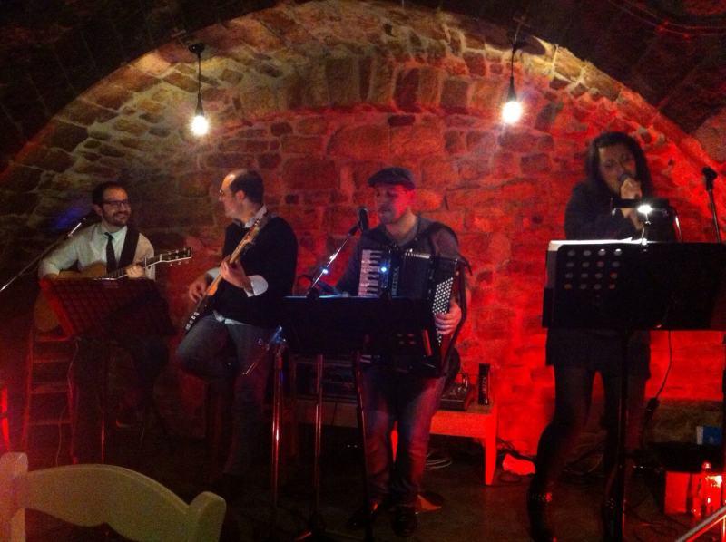 Gli Acusti 4 per L'Esperia Live Club