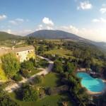 Castello di Petrata - Vista dall'alto