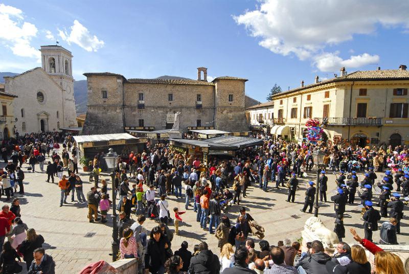 Piazza San Benedetto di Norcia