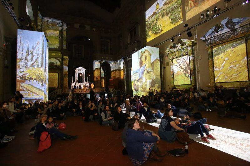Van Gogh Alive - il pubblico