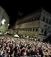 Piazza IV Novembre di Perugia - Umbria Jazz 2015