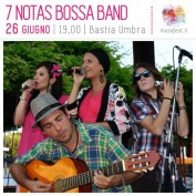 7 Notas Bossa Band al MUSA Music Assisi Festival