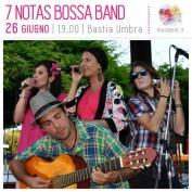 7 Notas Bossa Band al MUSA Music Assisi Festival