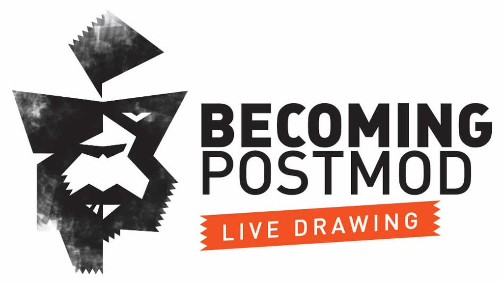 Becoming PostMod LIVE DRAWING