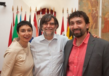Fabio Artuso e Barbara Orlandini e Jacopo Fo, Food Republic