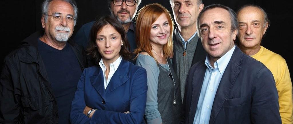 Silvio Orlando e Marina Massironi La scuola