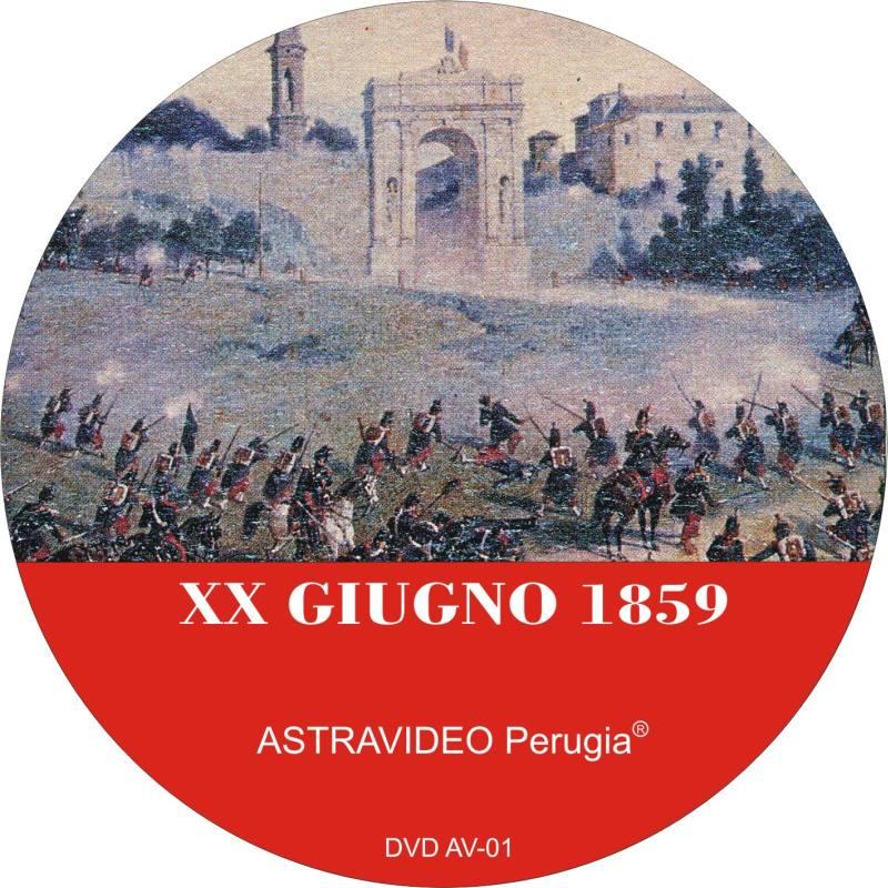 XX GIUGNO 1859 immagine DVD