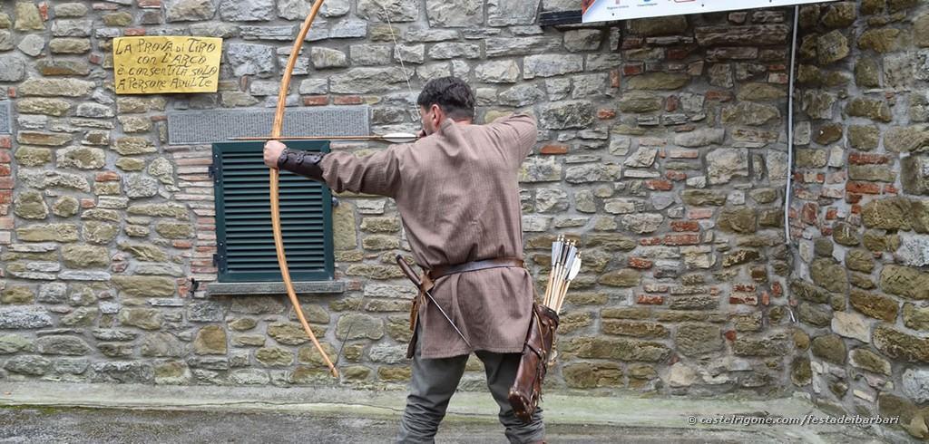 Festa dei Barbari - Castel Rigone - Arciere