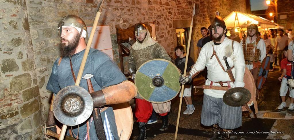 Festa dei Barbari - Castel Rigone - Armata