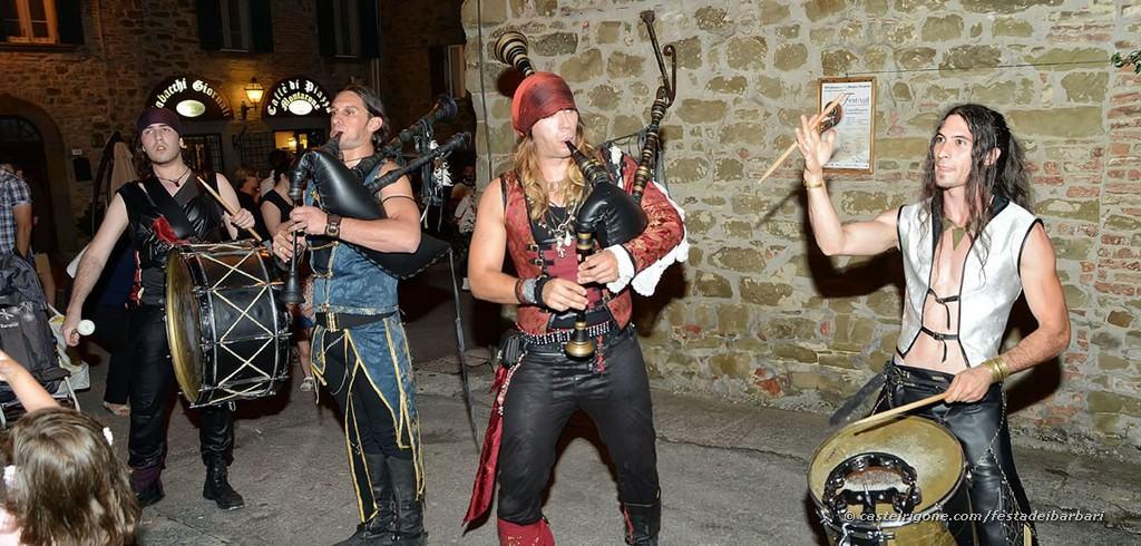Festa dei Barbari - Castel Rigone - Musici
