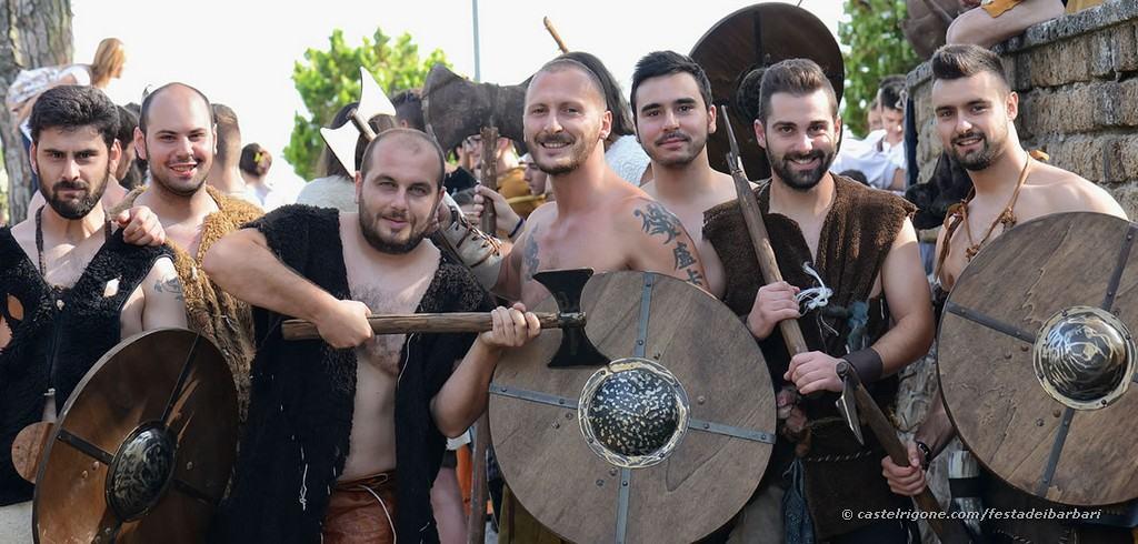 Festa dei Barbari - Castel Rigone - Sfilata