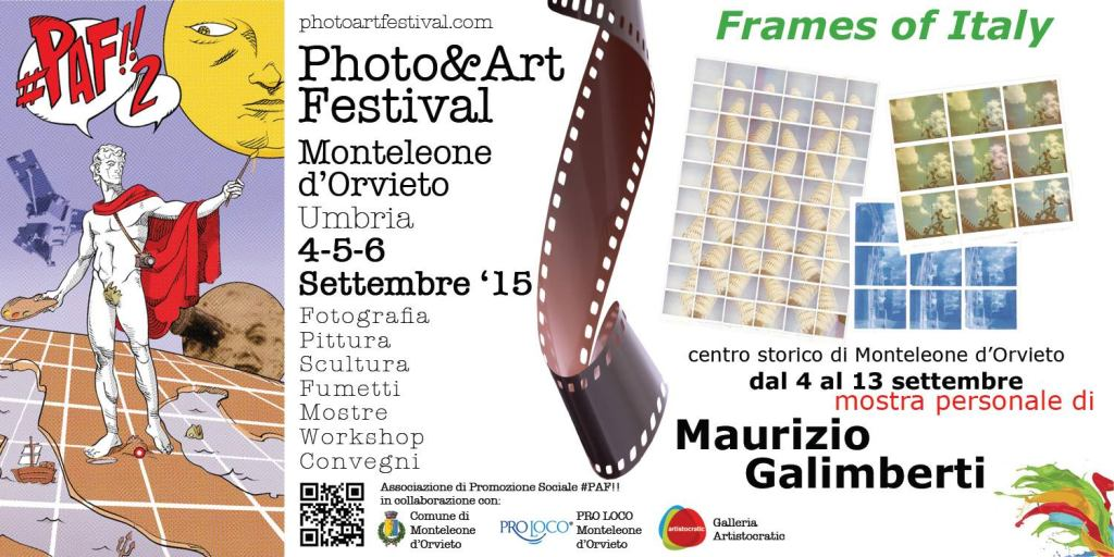Il PHOTO & ART FESTIVAL - #PAF2015!!