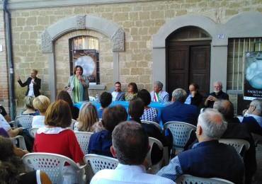 i relatori all'inaugurazione di Scultori a Brufa 2015
