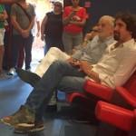 Filiberto Franchi e il sindaco Stefano Ansideri