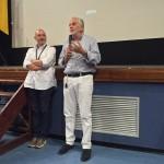 Marco Gnavolini e il sindaco di Bastia Umbra Stefano Ansideri