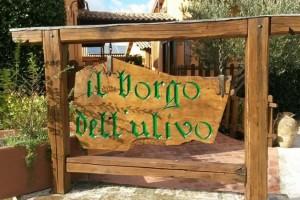 Logo Borgo dell'ulivo giorno