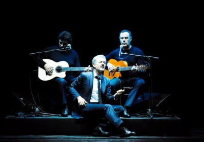 Penso che un sogno cosi... Giuseppe Fiorello_sx Daniele Bonaviri_dx Fab...