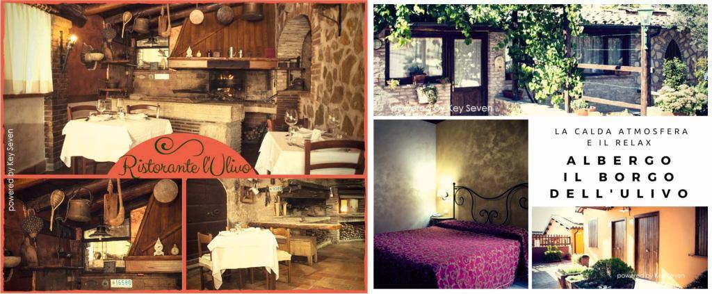 ristorante l'ulivo e albergo borgo dell'ulivo