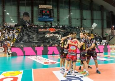 10ª giornata Campionato Italiano di pallavolo maschile Serie A1 SuperLega UnipolSai 2015/16.  PalaEvangelisti Perugia, 08.12.2015