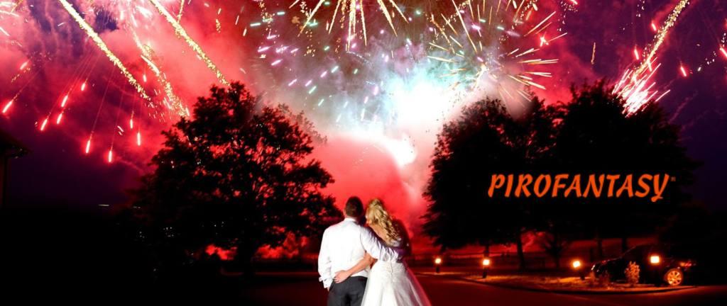 Pirofantasy fuochi d'artificio per matrimonio