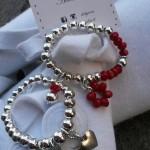Silver e Red Deb