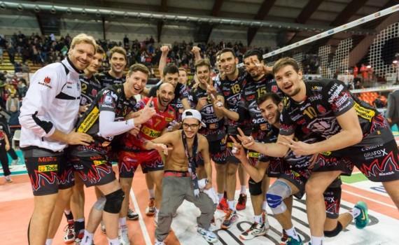 Ritorno Quarti di Finale Del Monte® Coppa Italia 2015/16.  PalaEvangelisti Perugia, 14.01.2016