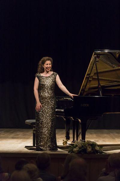 Angela Hewitt, pianista e direttore artistico del TMF