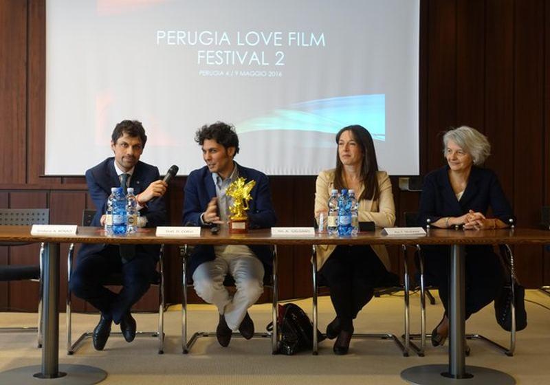 Da sin. Andrea Romizi, Daniele Corvi, Adriana Galgano, Maria Teresa Severini 2